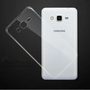 Skal till Samsung Galaxy J3 2016 Silikon Transparent