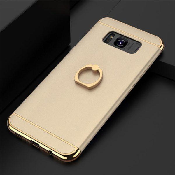 Skal till Samsung Galaxy S8 Kisscase Ringhållare Guld