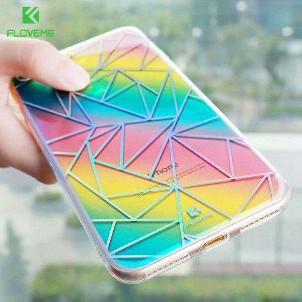 Skal till iPhone 6 Plus och iPhone 6S Plus Floveme Lyxig
