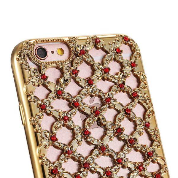 Skal till iPhone 5 5S och SE Diamond Grid