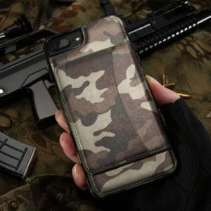 Fodral till iPhone 8 och iPhone 7 Kisscase Militär