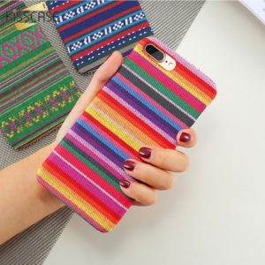Skal till iPhone 5 5S och iPhone SE Kisscase Mosaik i tyg