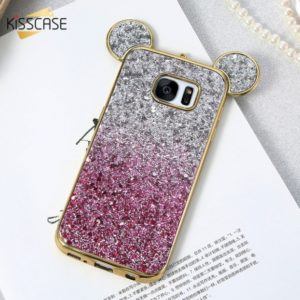Skal till Samsung Galaxy S7 Edge Kisscase Mickey Mouse