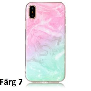 Skal till iPhone X Marmorerad F7