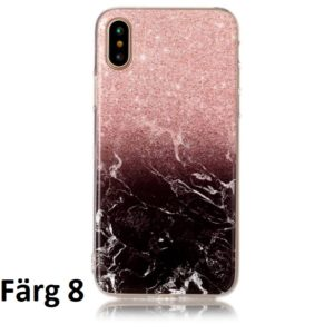 Skal till iPhone X Marmorerad F8
