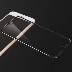 Metal ram Härdat Glas Skärmskydd iPhone 8 Plus 7 Plus 6/6S Plus