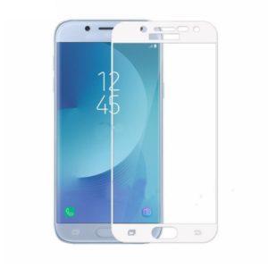 Härdat Glas 0.3 Skärmskydd till Samsung Galaxy J3 2017 Vit