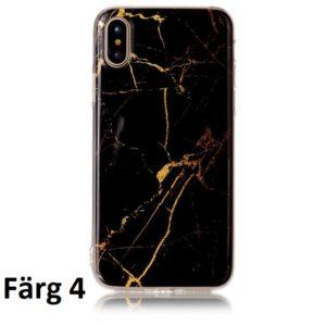 Skal till iPhone X Marmorerad F4