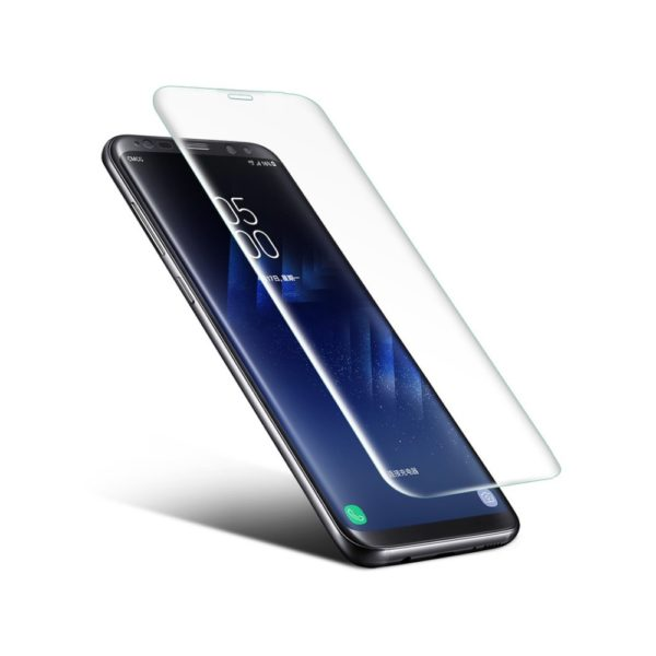 2 Pack 0.1 Nano Glass Skärmskydd Samsung Galaxy 8+