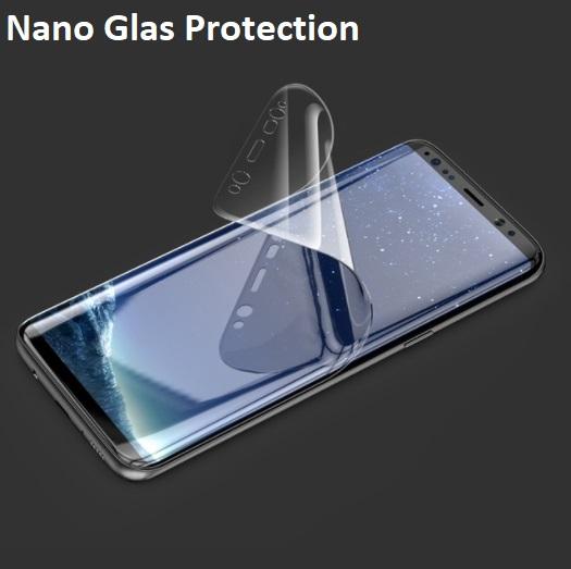2 Pack 0.1 Nano Glas Skärmskydd Samsung Galaxy S8+