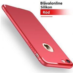 Skal till iPhone 8 och iPhone 7 Silikon Röd