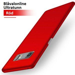 Skal till Samsung Galaxy Note 8 Ultratunn Röd