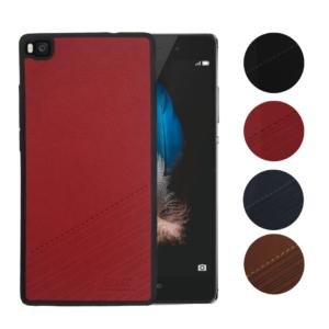 Skal till Huawei P8 Lite Blåval SK1 Röd