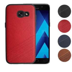 Skal till Samsung Galaxy A5 2017 Blåval SK1 Röd