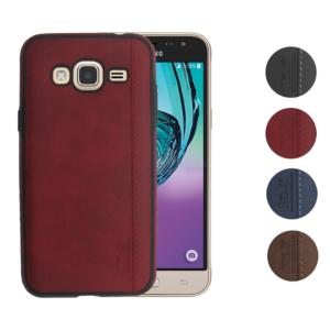 Skal till Samsung Galaxy J3 2016 Blåval SK8 Röd