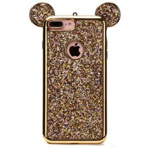 Skal till iPhone 8/7 Plus Mickey Mouse Guld