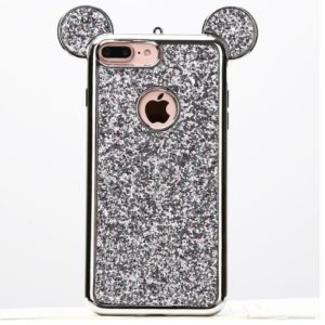 Skal till iPhone 8/7 Plus Mickey Mouse Silver