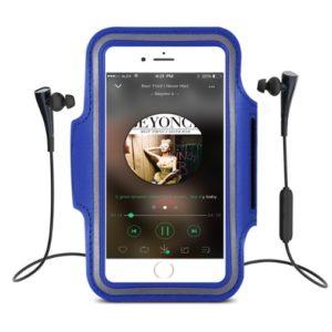Sportarmband iPhone 8/7/6/6S Plus med Reflex Blå