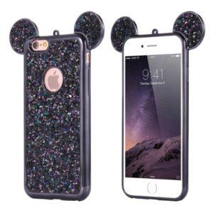 Skal till iPhone 8/7 Mickey Mouse Svart