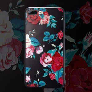 Skal till iPhone 8 Plus och iPhone 7 Plus Blommor F15