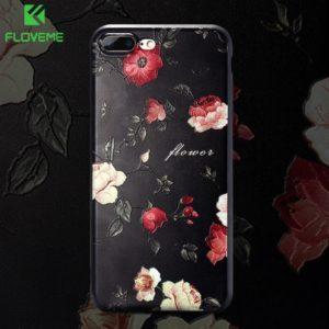 Skal till iPhone 8 Plus och iPhone 7 Plus Blommor F16