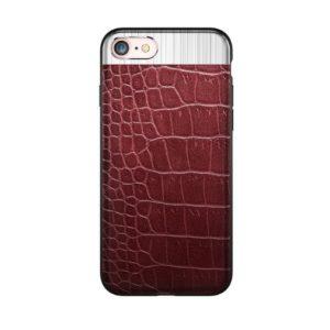 Skal till iPhone 8 och iPhone 7 Fashion 4 Brunröd