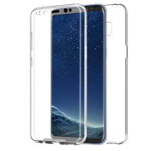 Skal till Samsung Galaxy S8+ Transparent Dubbelskydd