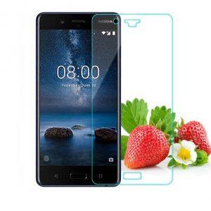 0.3 Härdat Glas Skärmskydd till Nokia 8
