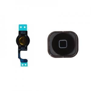 iPhone 5 Funktion knapp och hemknapp Svart