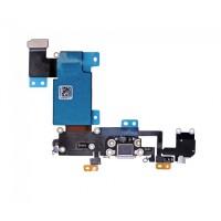 iPhone 6S Plus Laddningskontakt / Hörlursuttag Flex Kabel Vit