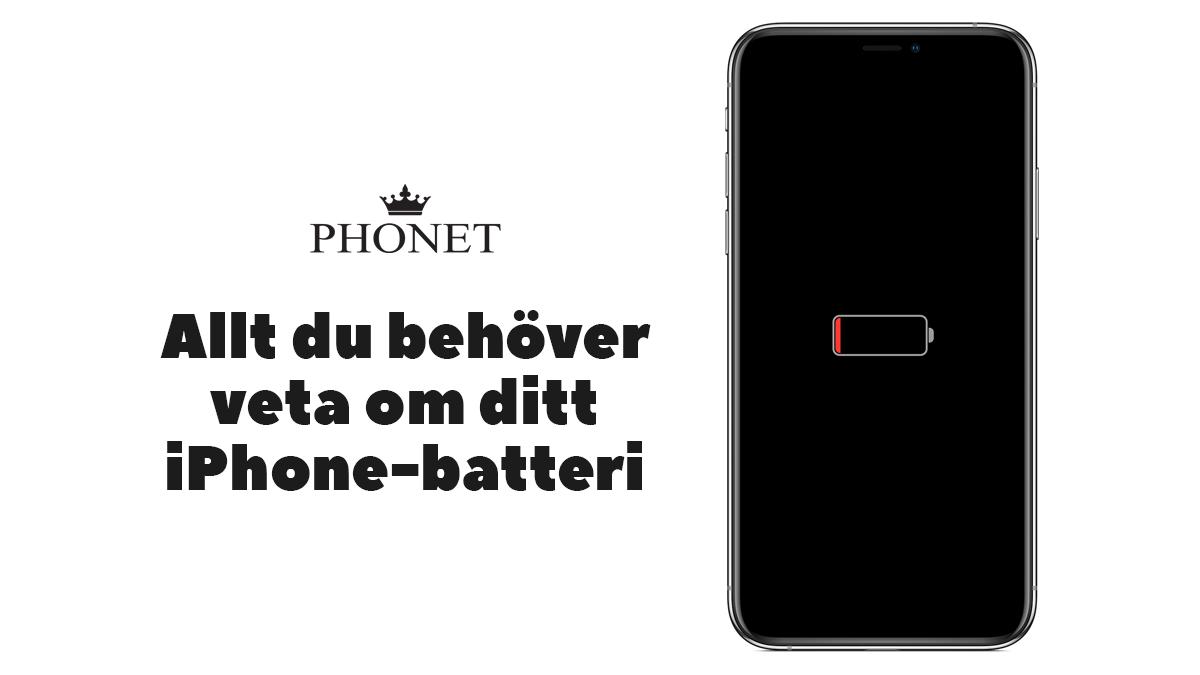 iPhone batteri