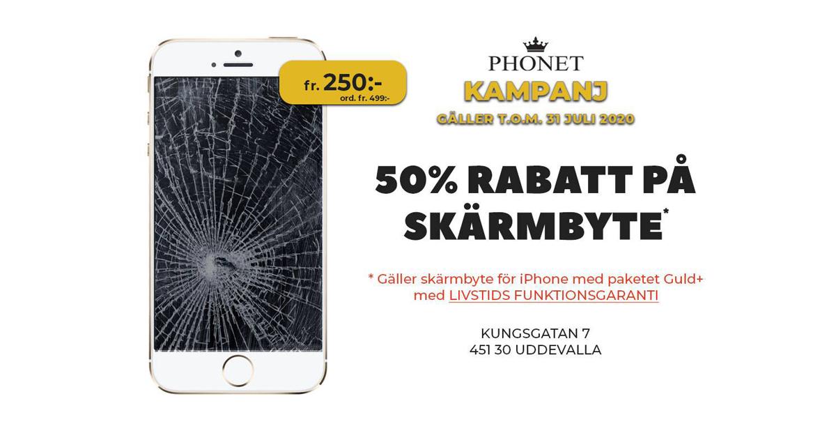 skärmbyte på iphone