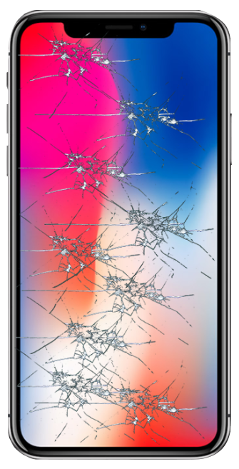 reparera trasig skärm iphone