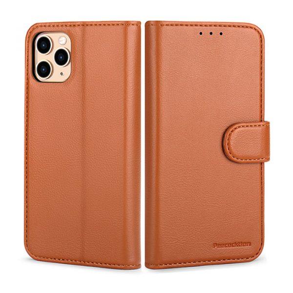 iphone 12 mobilfodral brun