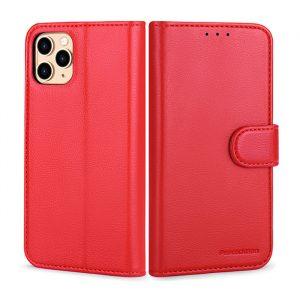 iphone 12 pro mobilfodral röd