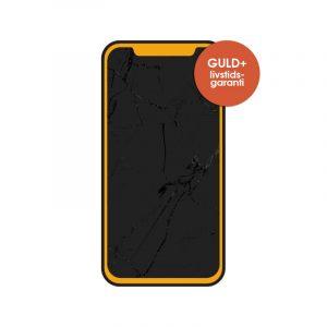 iphone 11 x skärmbyte guld