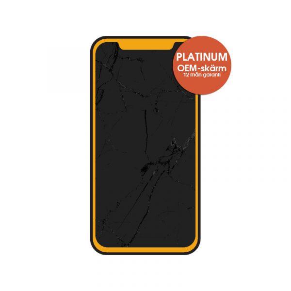iphone 11 x skärmbyte platinum