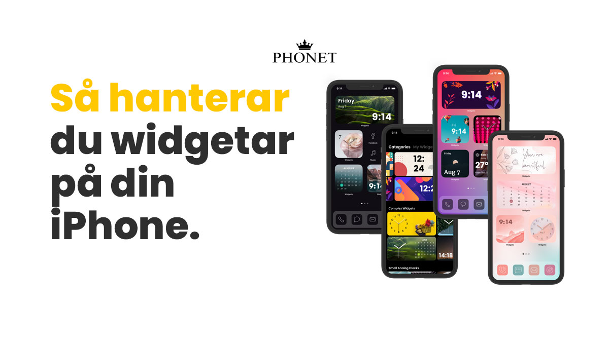 widgetar iphone